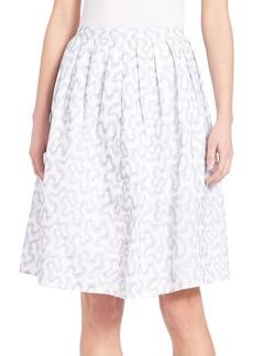 MICHAEL MICHAEL KORS Ribbon Print Skirt