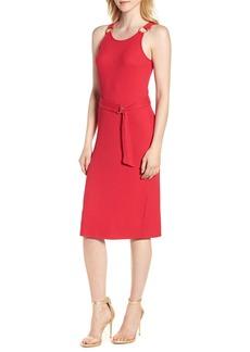 MICHAEL Michael Kors Ring Accent Rib Tank Dress