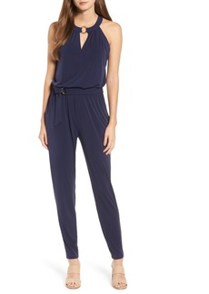 MICHAEL Michael Kors Ring Neck Jumpsuit