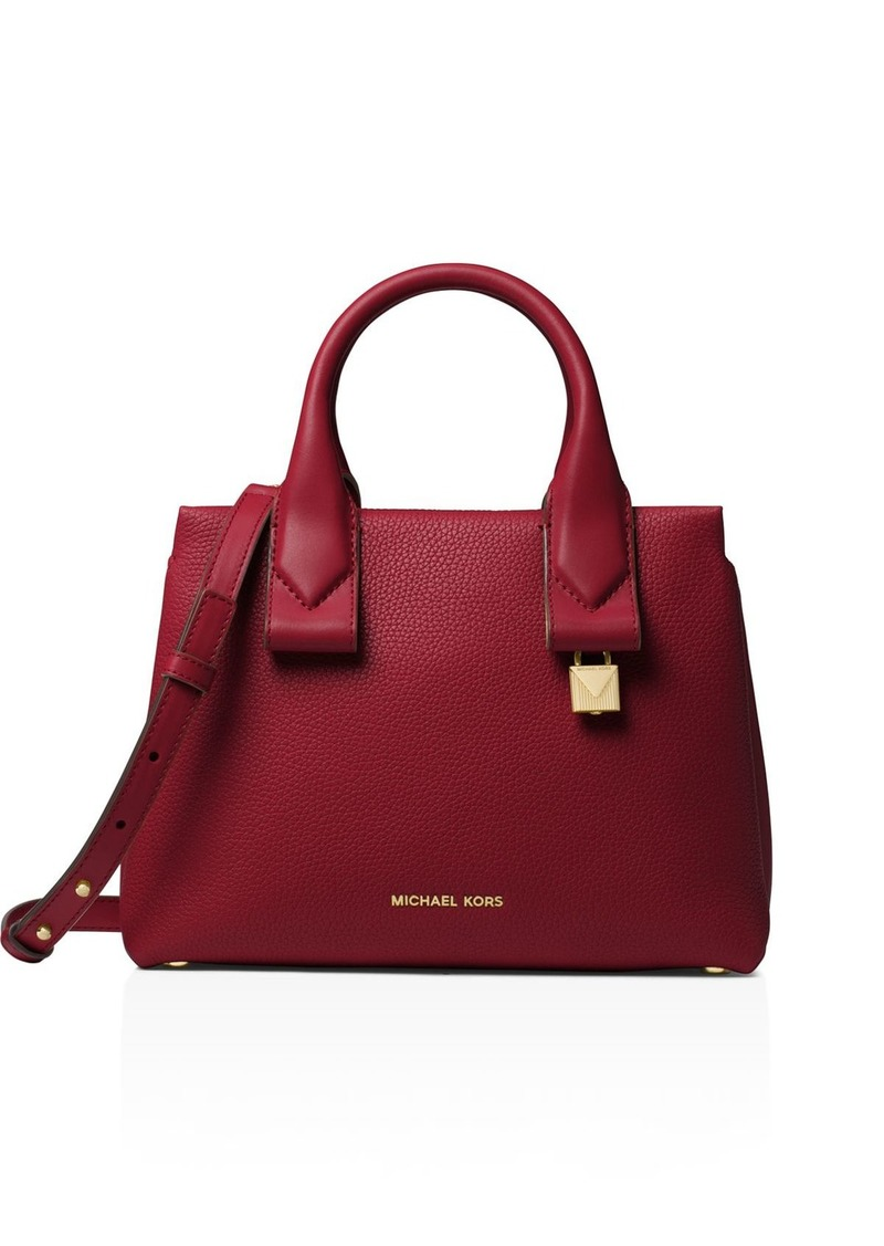 1264d8566b9 MICHAEL Michael Kors MICHAEL Michael Kors Rollins Small Leather ...