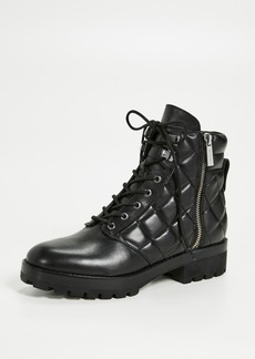 MICHAEL Michael Kors Rosario Quilted Combat Boots