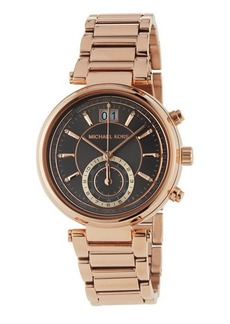 MICHAEL Michael Kors Rose Golden Gunmetal Bracelet Watch