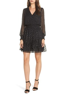 MICHAEL Michael Kors Ruffle Fit & Flare Dress