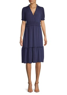 MICHAEL Michael Kors Ruffle Knee-Length Dress