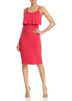 MICHAEL Michael Kors Ruffle Overlay Dress