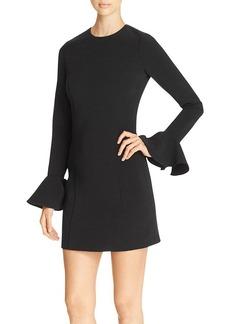 MICHAEL Michael Kors Ruffle Sleeve Dress