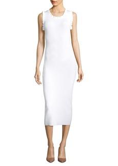 MICHAEL MICHAEL KORS Ruffle-Trim Bodycon Dress