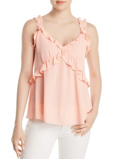 MICHAEL Michael Kors Ruffled Camisole Top - 100% Exclusive