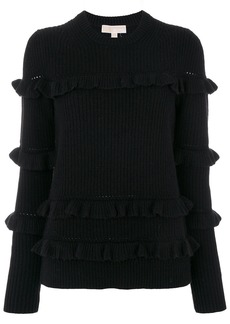 Michael Michael Kors ruffled jumper - Black