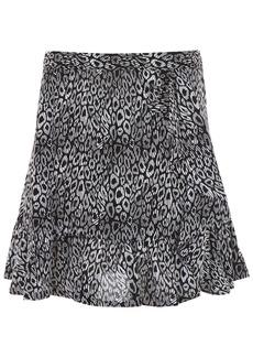 MICHAEL Michael Kors Ruffled Mini Skirt