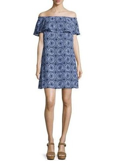 MICHAEL Michael Kors Ruffled Off-the-Shoulder Dress