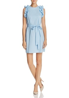Michael Michael Kors Ruffled Shirt Dress