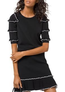 MICHAEL Michael Kors Ruffled Sweater