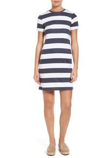 MICHAEL Michael Kors Rugby Stripe T-Shirt Dress (Regular & Petite)