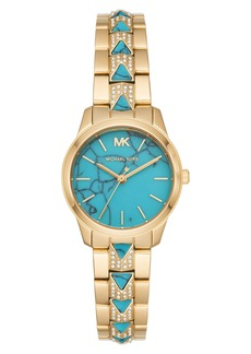MICHAEL Michael Kors Runway Mercer Bracelet Watch, 28mm