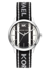 MICHAEL Michael Kors Runway NATO Strap Watch, 38mm