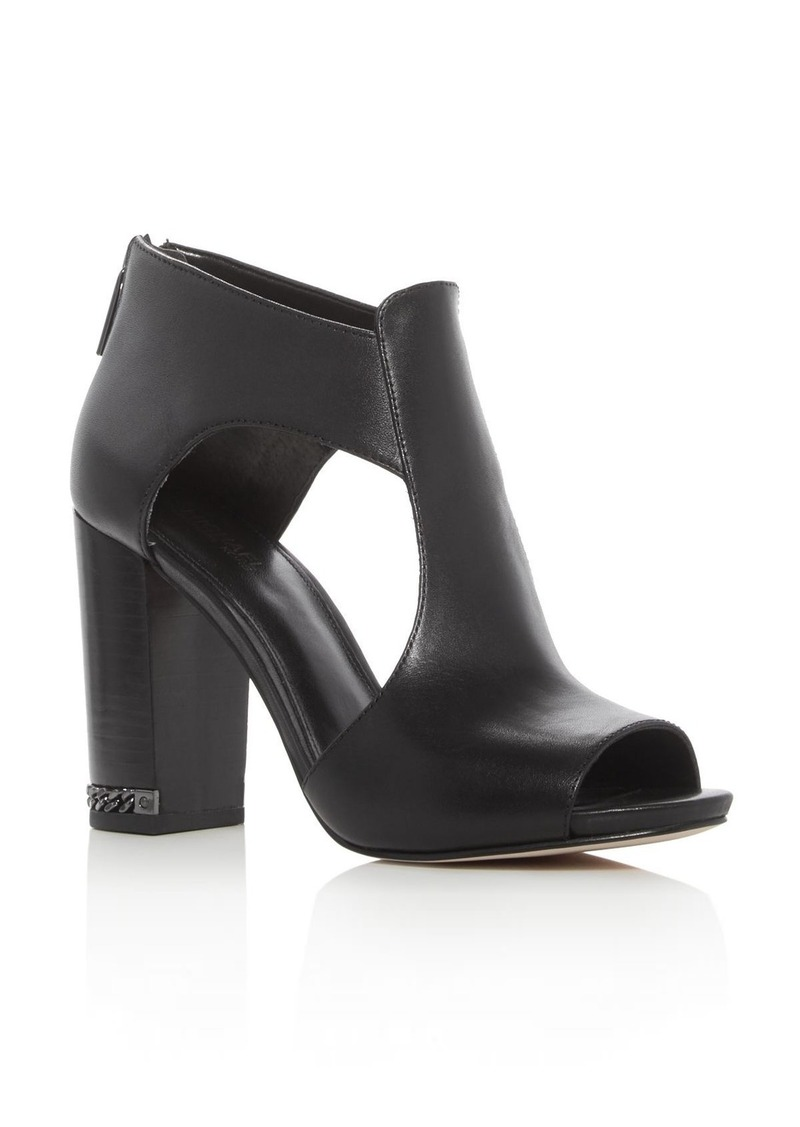 michael michael kors michael michael kors sabrina open toe high heel sandals shoes shop it to me. Black Bedroom Furniture Sets. Home Design Ideas