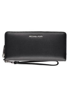 MICHAEL Michael Kors Saffiano Leather Continental Jet Set Travel Wallet