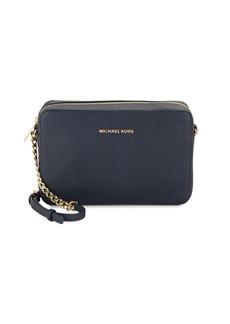 MICHAEL MICHAEL KORS Saffiano Leather Crossbody Bag
