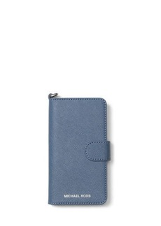 Saffiano Leather Folio iPhone 7 Case