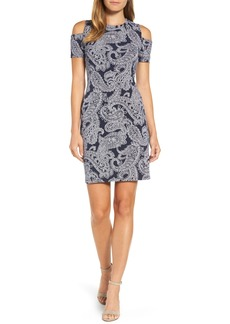 MICHAEL Michael Kors Samara Cold Shoulder Sheath Dress