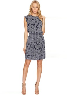 MICHAEL Michael Kors Samara Paisley Pleat Dress