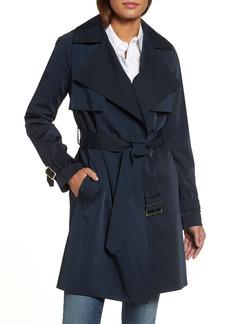 MICHAEL Michael Kors Satin Trench Coat