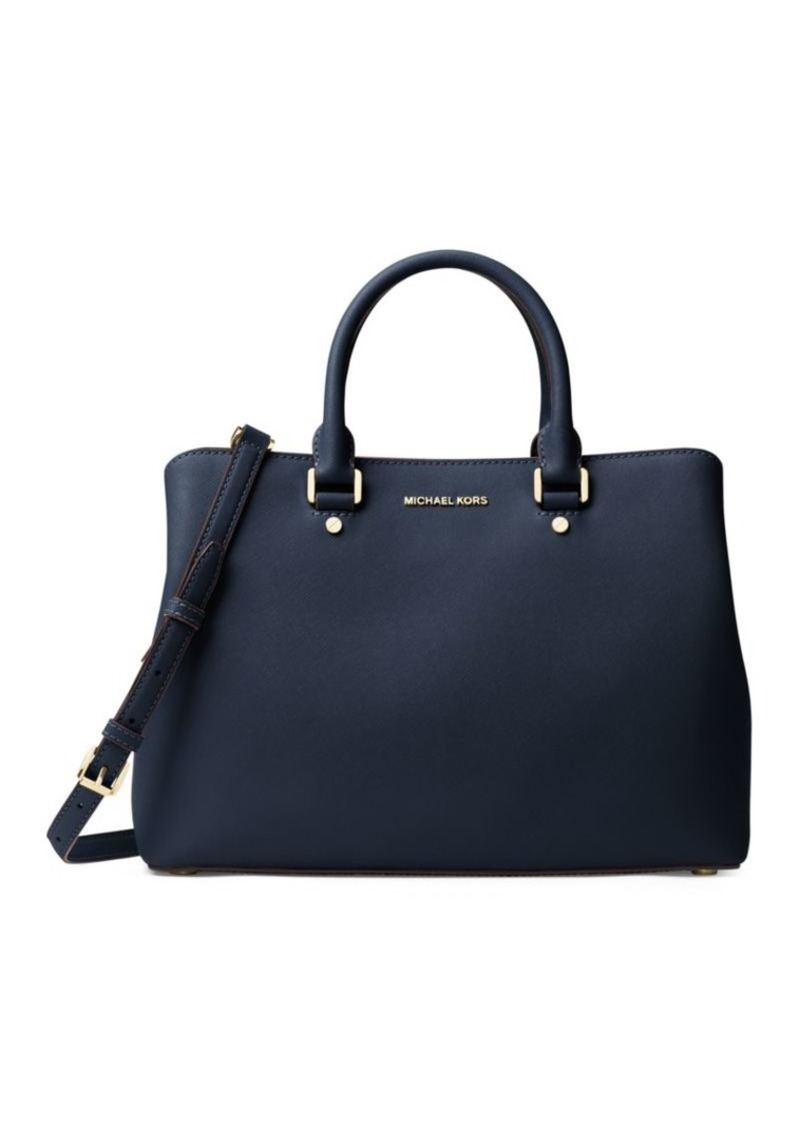 1262085b2f80 MICHAEL Michael Kors MICHAEL MICHAEL KORS Savannah Large Leather ...