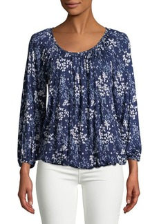 MICHAEL Michael Kors Scattered Blooms Blouse