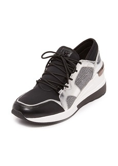 MICHAEL Michael Kors Scout Metallic Trainer Sneakers