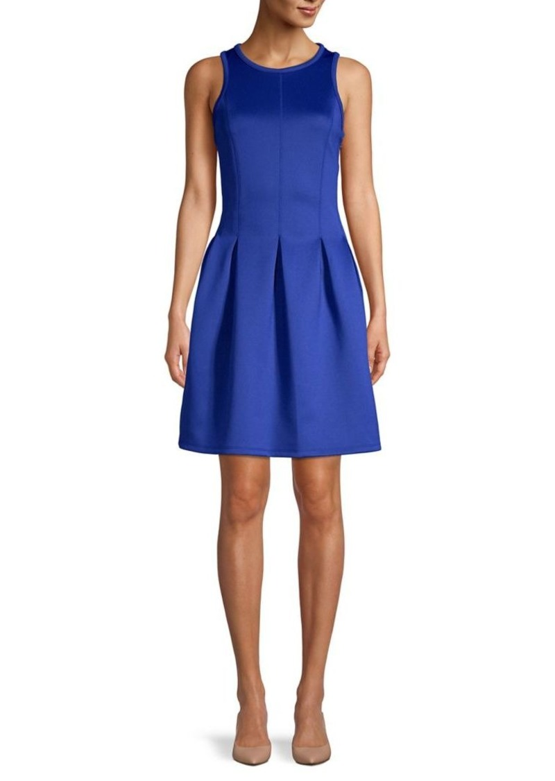 MICHAEL Michael Kors Scuba Fit-&-Flare Dress