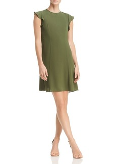 MICHAEL Michael Kors Seamed Flounce Dress