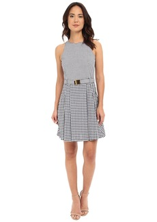 MICHAEL Michael Kors Self Belt Dress