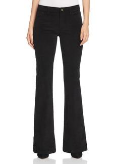 MICHAEL Michael Kors Selma Corduroy Flare Jeans in Black - 100% Exclusive