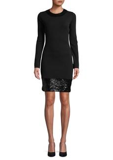 MICHAEL MICHAEL KORS Sequin Bodycon Dress