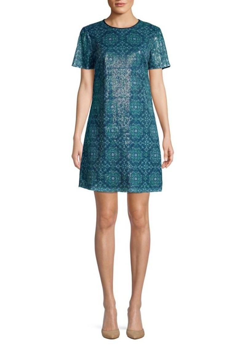 MICHAEL Michael Kors Sequin Mini Shift Dress
