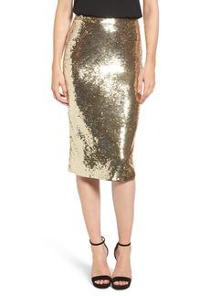 MICHAEL Michael Kors Sequin Pencil Skirt