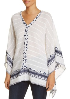 MICHAEL Michael Kors Sequined Embroidered Poncho