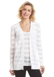 MICHAEL Michael Kors® Sheer Striped Cardigan