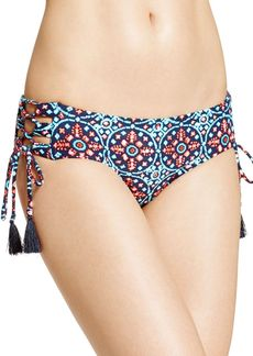 MICHAEL Michael Kors Shirred Bikini Bottom