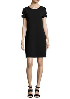 MICHAEL Michael Kors Short-Sleeve Shift Dress