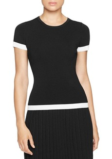 MICHAEL Michael Kors Short Sleeve Sweater Top