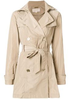 Michael Michael Kors short trench coat - Brown