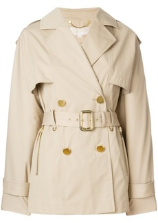 Michael Michael Kors short trench coat - Nude & Neutrals