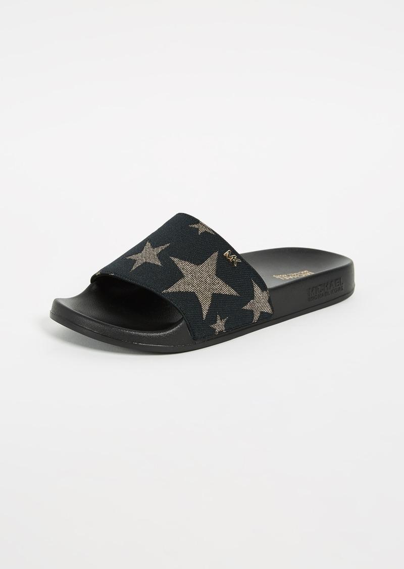 e7cb4c8d0a MICHAEL Michael Kors MICHAEL Michael Kors Sia Star Slides | Shoes
