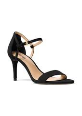 MICHAEL MICHAEL KORS Simone Suede Ankle-Strap Sandals