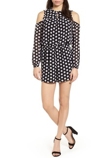 MICHAEL Michael Kors Simple Dot Deluxe Romper