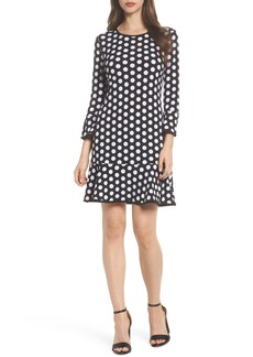 MICHAEL Michael Kors Simple Dot Swing Dress