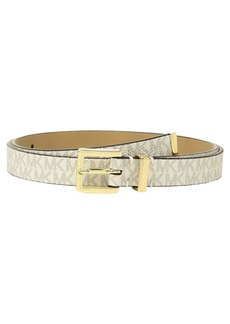 MICHAEL Michael Kors Skinny Logo Belt