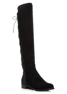 MICHAEL Michael Kors Skye Stretch Over The Knee Lace Up Boots